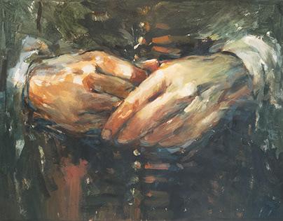 Rembrandt's Hands?
