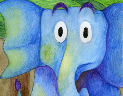 The Blind Men and the Elephant Accordion Book