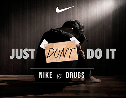 NIKE vs DRUGS #Justdontdoit