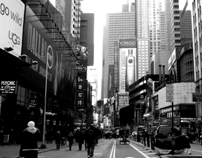 NYC Black And White Photography