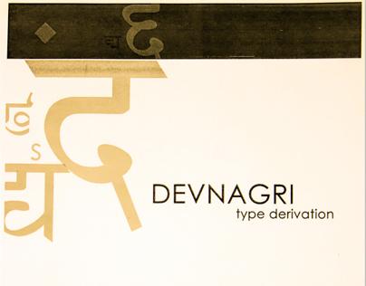 Devnagri Type Derivation