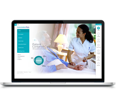 Group of Hospital Website