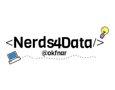 Nerds 4 Data Logo design