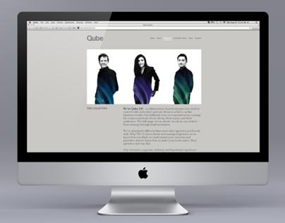 Qube 2.0 Website