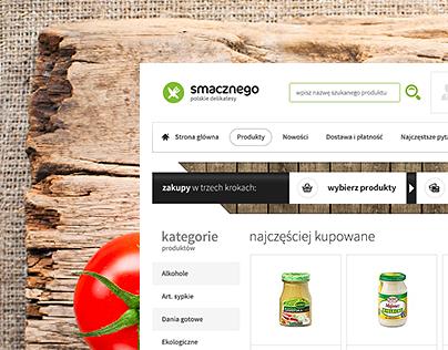 Delicatessen - Online Store