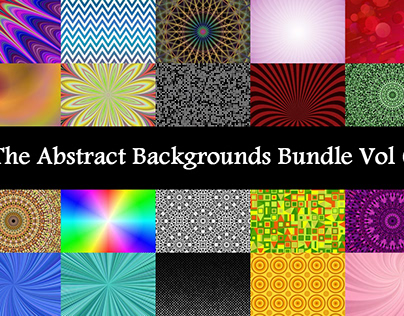 The Abstract Backgrounds Bundle Vol. 6