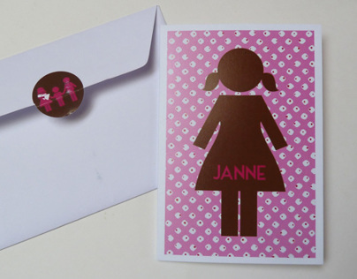 Birth Announcement Janne