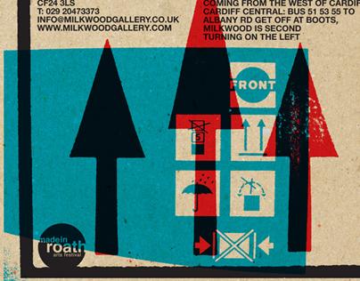 Cardboard Household - Exhibition Invite