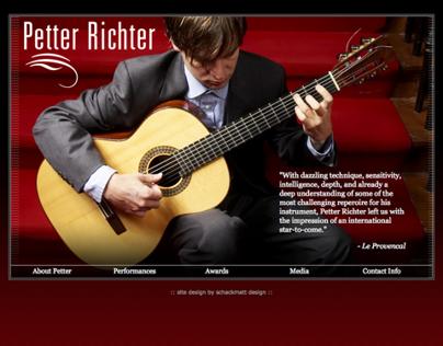 Website for Petter Richter
