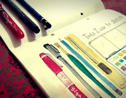 It's New! - Sketchbook 3