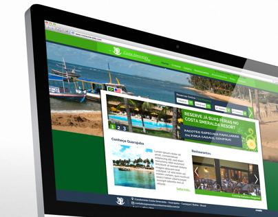 Site Pousada Costa Smeralda