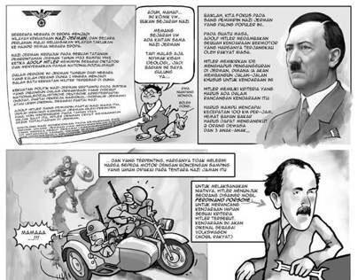 The Beetle - Komik Serial Sejarah VW