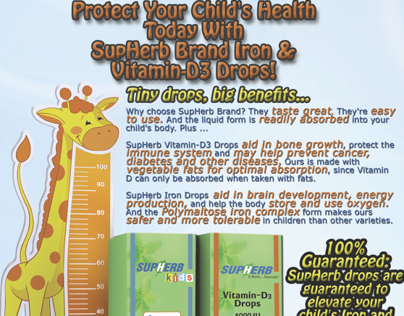 SupHerb Vitamin Kids Ad