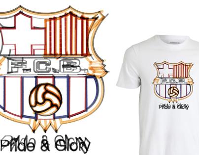 Pride & Glory football tees