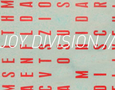 Joy Division //