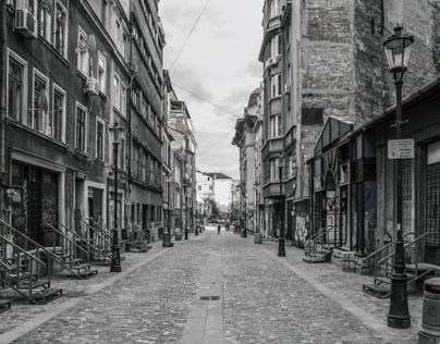 Broken Boulevards, Bucharest photography