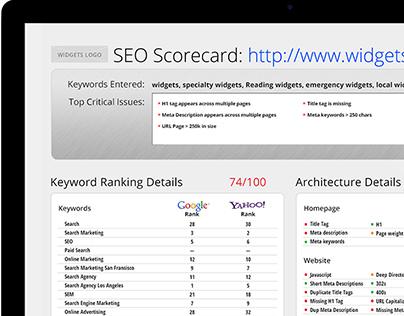 The Search Agency SEO Scorecard
