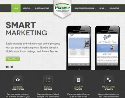 Premier Business Advantage Website