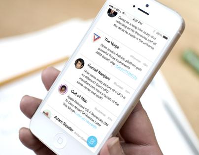iOS 7 Twitter Client Prototype