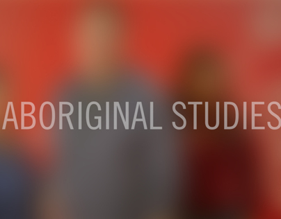 Aboriginal Studies Program Collateral