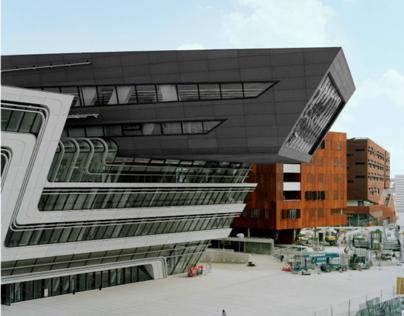 Vienna University by Zaha Hadid Architects | AT