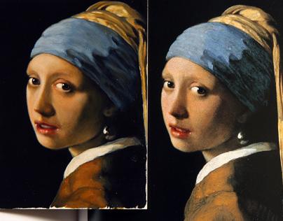 Vermeer copy