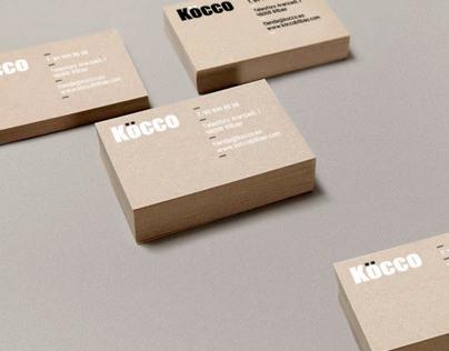 identidad corporativa Köcco