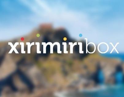 marca, web y diseño de producto para xirimiribox