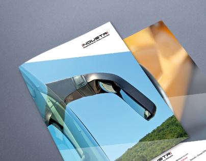 Diseño de catálogo de producto / folleto