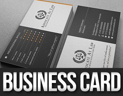 Advocate Skills Business Card