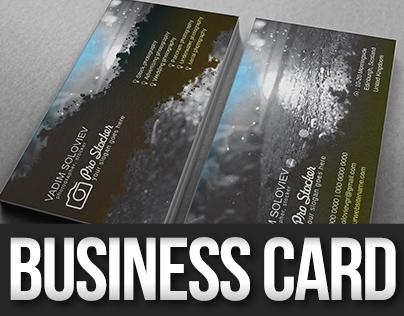Pro Stocker Business Card