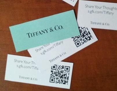 Tiffany survey cards