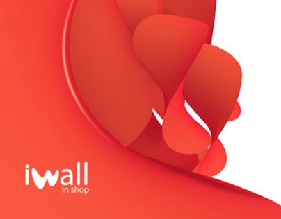 Iwall in shop