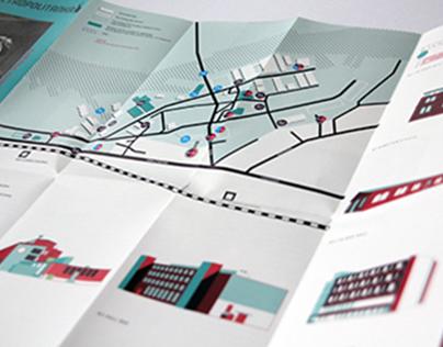 Metropolitanka, Flyer Map - Layout