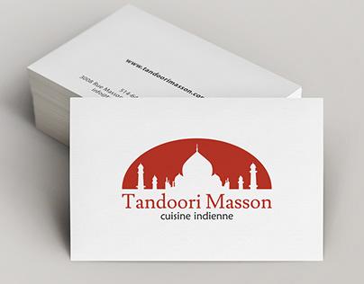 Tandoori Masson Branding Project