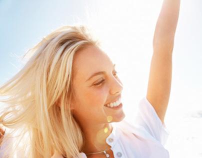Life Coach & Nutritionist Website - Canada