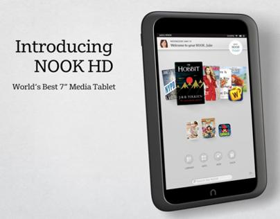 Barnes & Noble - Nook HD