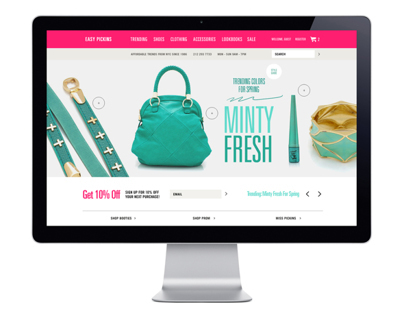 Easy Pickins eCommerce Website
