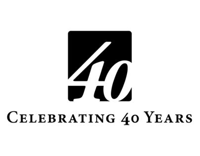 40th Anniversay Logo