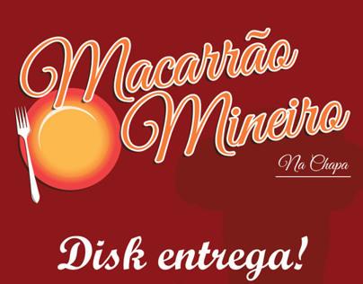 Material Gráfico: Macarrão Mineiro