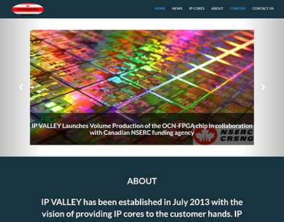 IP Valley Inc. Website