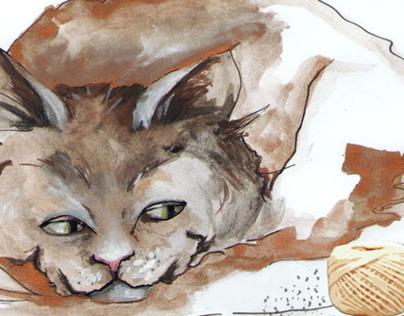Ilustraciones para libros infantiles: Animales