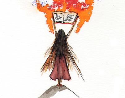 Ilustraciones para notas en revistas