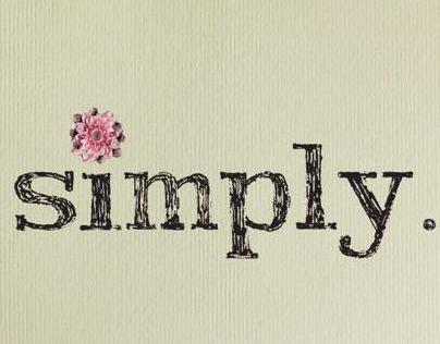 Simply...