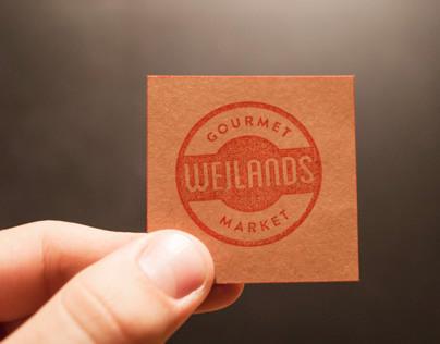 Weilands Gourmet Market Rebrand