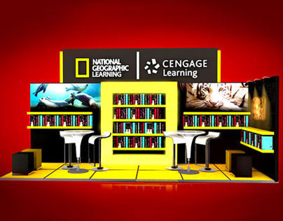 NAT GEO:  MOBILE  LIBRARY  STAND