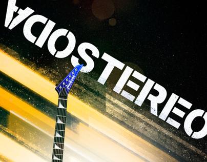Poster Homenaje a Soda Stereo / Gustavo Cerati