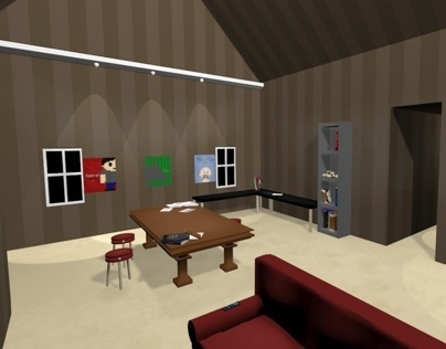 Stylized Interior Animation - Intro to 3D Final
