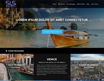 Website design for SLS Agency
