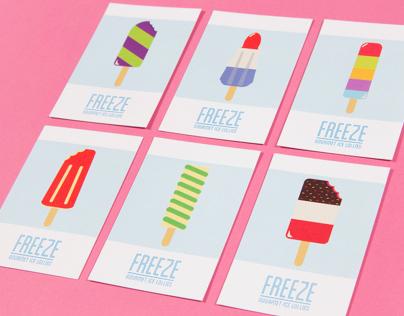 FREEZE Ice Lollies